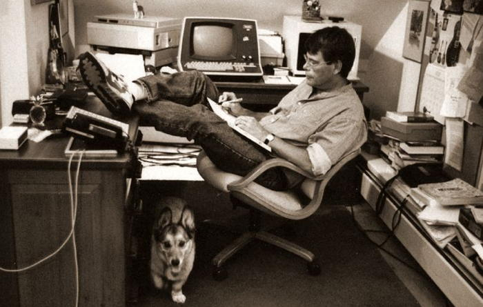 Stephen King by Jill Krementz