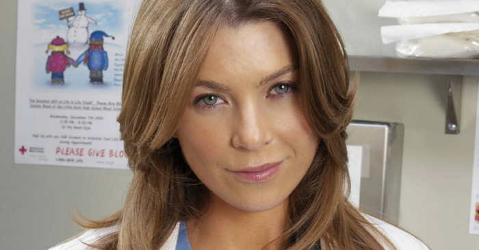 Ellen Pompeo in Grey's Anatomy