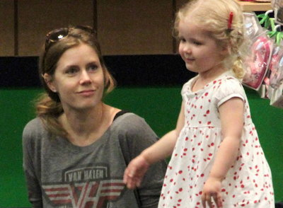 Amy Adams and Aviana