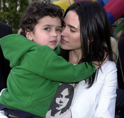 Jennifer Connelly with Kai