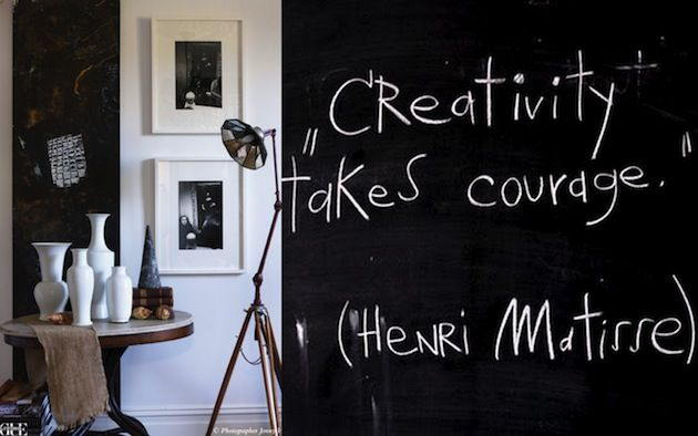 Matisse-quote- Creativity Takes Courage