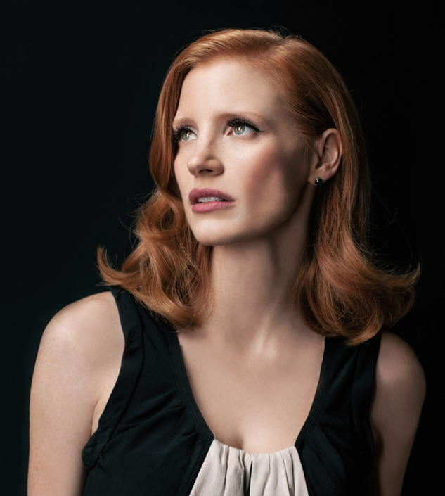 Jessica Chastain by Jeff Vespa