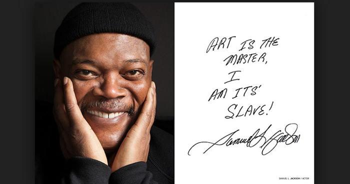 Samuel L. Jackson in Art&Soul book