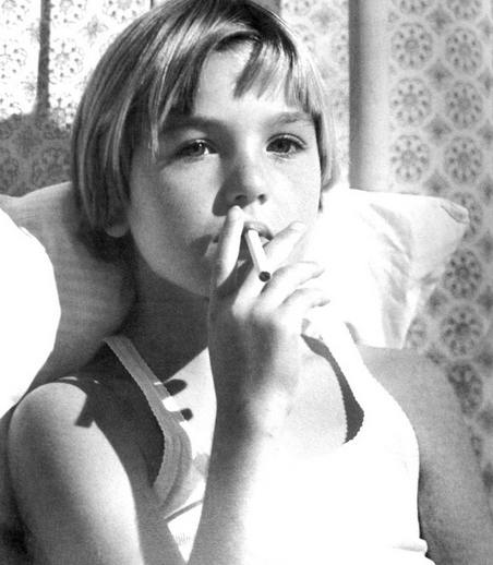 Tatum O'Neal in Paper Moon,1973