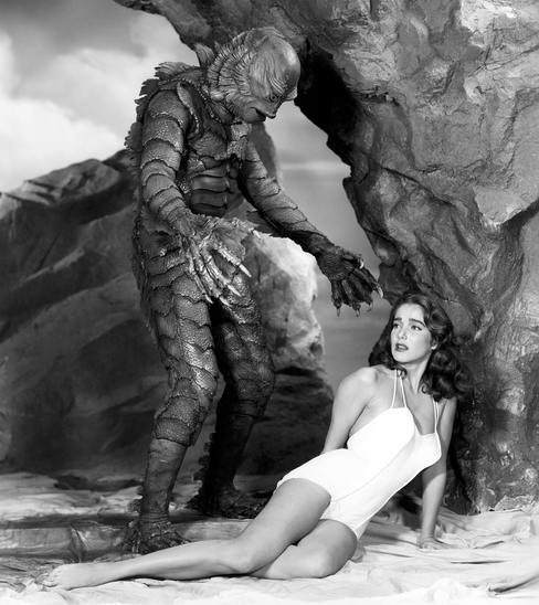 Julie Adams in Creature from the Black Lagoon, 1954