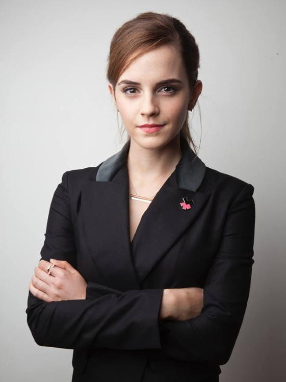 Emma Watson from her Facebook