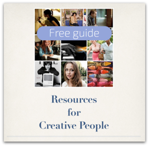 Resources for Creative People free guide