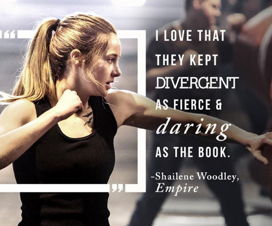 Shailene Woodley in Divergent -from-FB