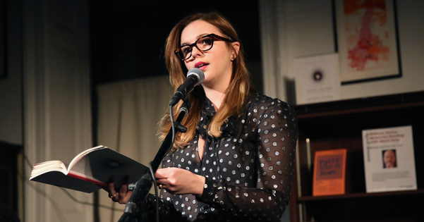 Amber Tamblyn reading from Dark Sparkler
