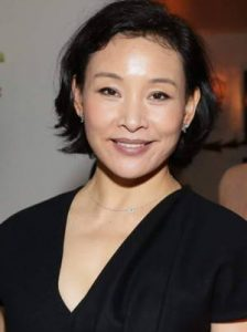 Joan Chen short hair