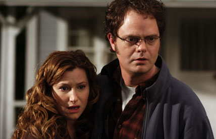 Kathryn Hahn, Rainn Wilson in The Last Mimzy