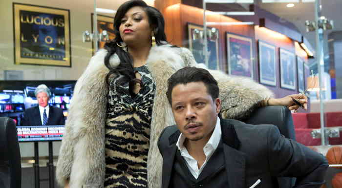 Terrence Howard and Taraji P. Henson in Empire