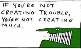Be More Creative: Ignore Everyone