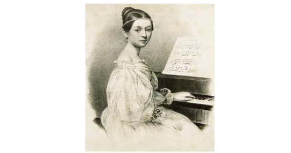 Clara Schumann as teen prodigy