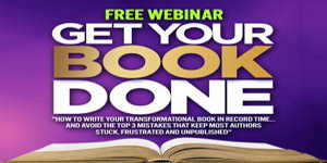 Christine Kloser free webinar Get Your Book Done