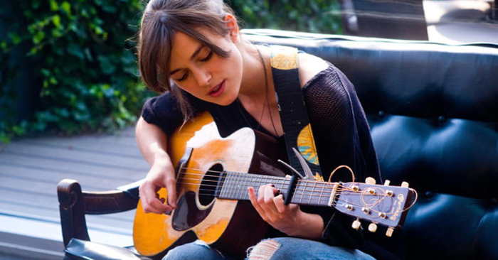 "Keira Knightley in ""Begin Again"""