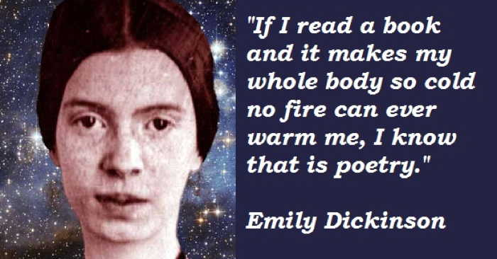 Emily Dickinson - quote