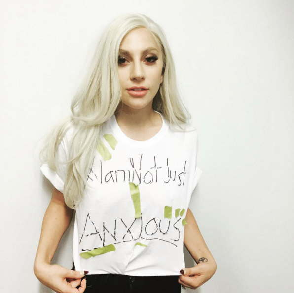 Lady Gaga I-am-not-just-anxious