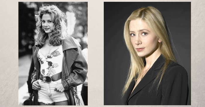 Mira Sorvino in Mighty Aphrodite and a portrait