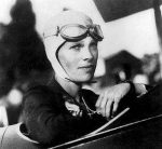 "Amelia Earhart: ""I do it because I want to."""