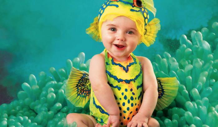 Anne Geddes 2016 calendar baby