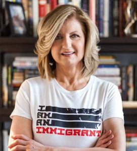 Arianna Huffington from Facebook