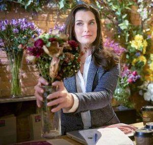 Brooke Shields in Flower Shop Mystery