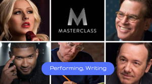 MasterClass creativity training programs