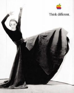 Martha Graham - 'Think Different' Apple campaign