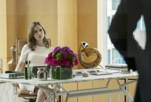 Eliza Dushku as attorney J.P. Nunnelly in Bull TV series