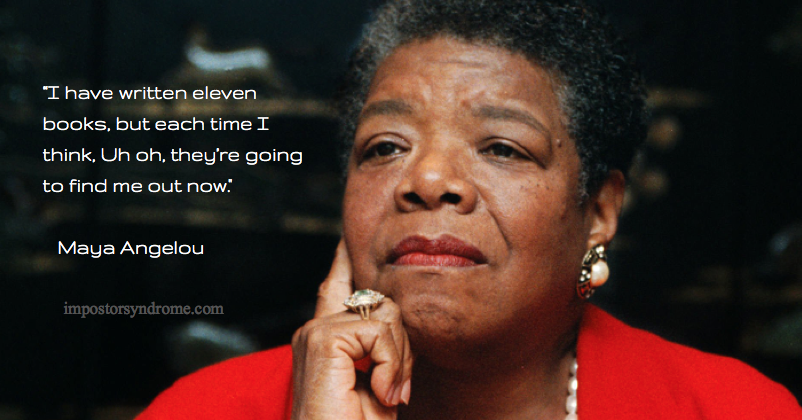 Maya Angelou impostor quote
