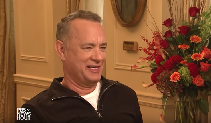 Tom Hanks on writing his book - PBS video