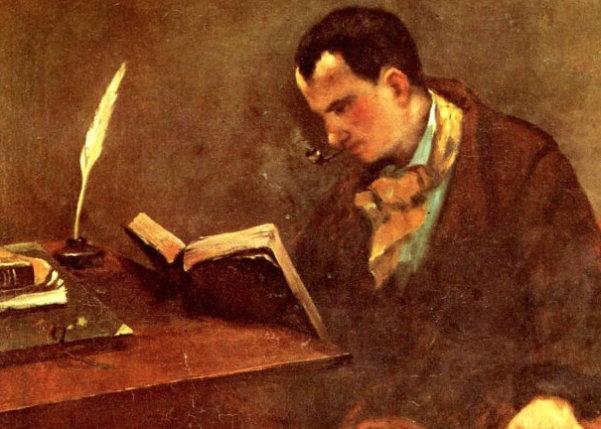 Charles Baudelaire portrait painting