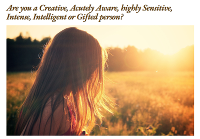 Sharon Barnes Counseling and Programs for Creative, Gifted, Highly Sensitive People