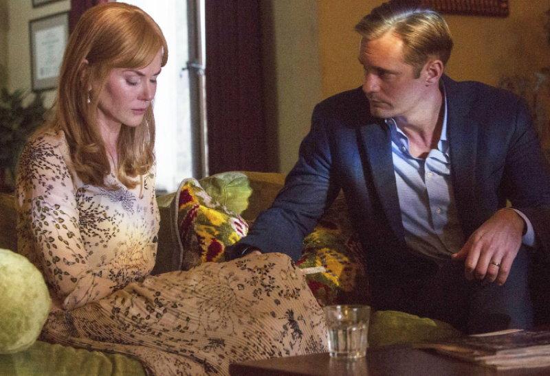 Nicole Kidman and Alexander Skarsgård in Big Little Lies