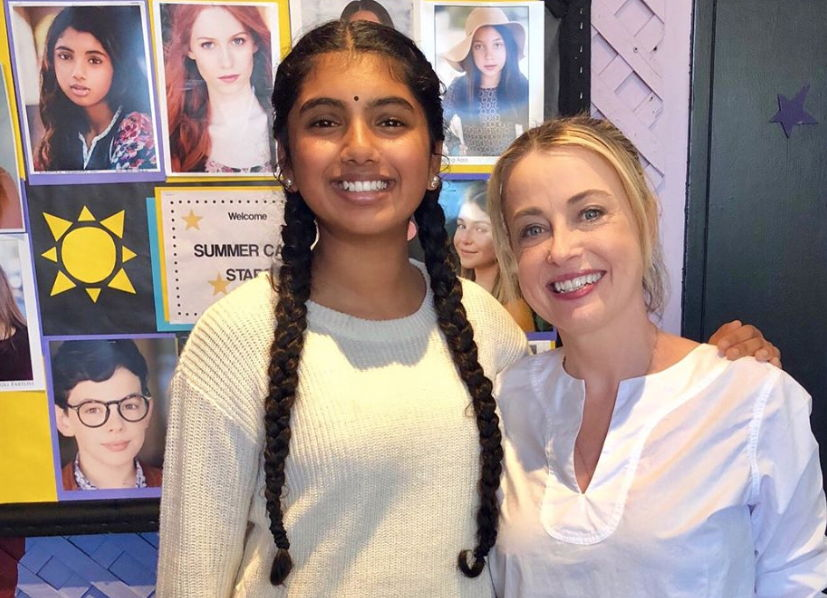 Cynthia Bain with Avantika Vandanapu