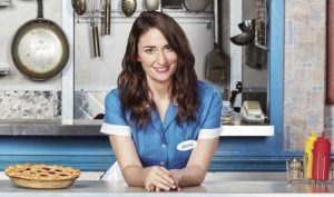 Sara Bareilles in Broadway play Waitress