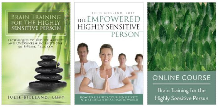 Julie Bjelland course & ebooks covers