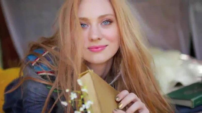 Deborah Ann Woll - SELF mag fashion shoot