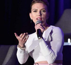 Scarlett Johansson at an event for Avengers- Endgame