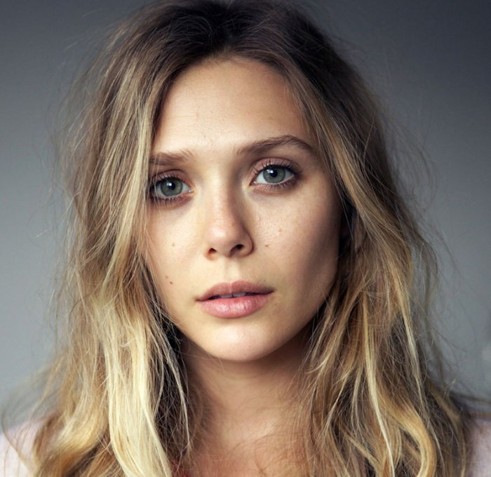 Elizabeth Olsen from her Facebook page
