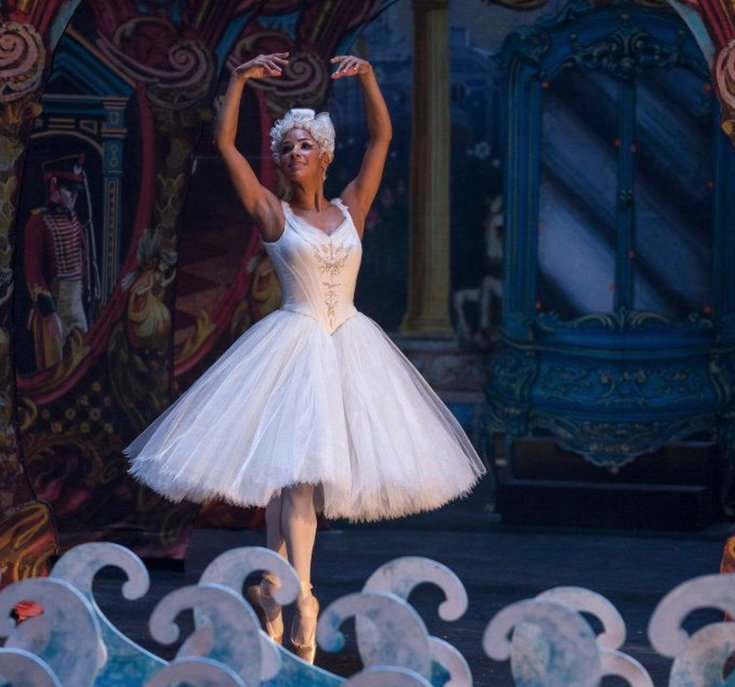 Misty Copeland as the Ballerina Princess