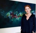 Loving the pleasures of being in charge of your own creative work - painter Laurel Holloman