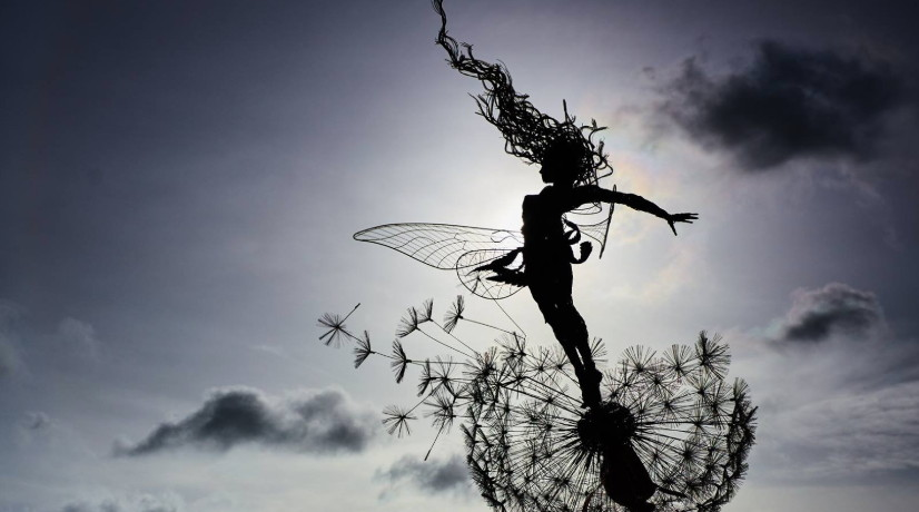 Fairy Sculpture by Robin Wight