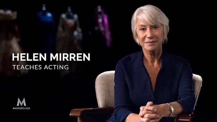 Helen Mirren Teaches Acting