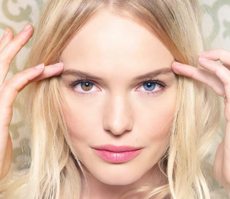Kate Bosworth Heterochromia from her Facebook